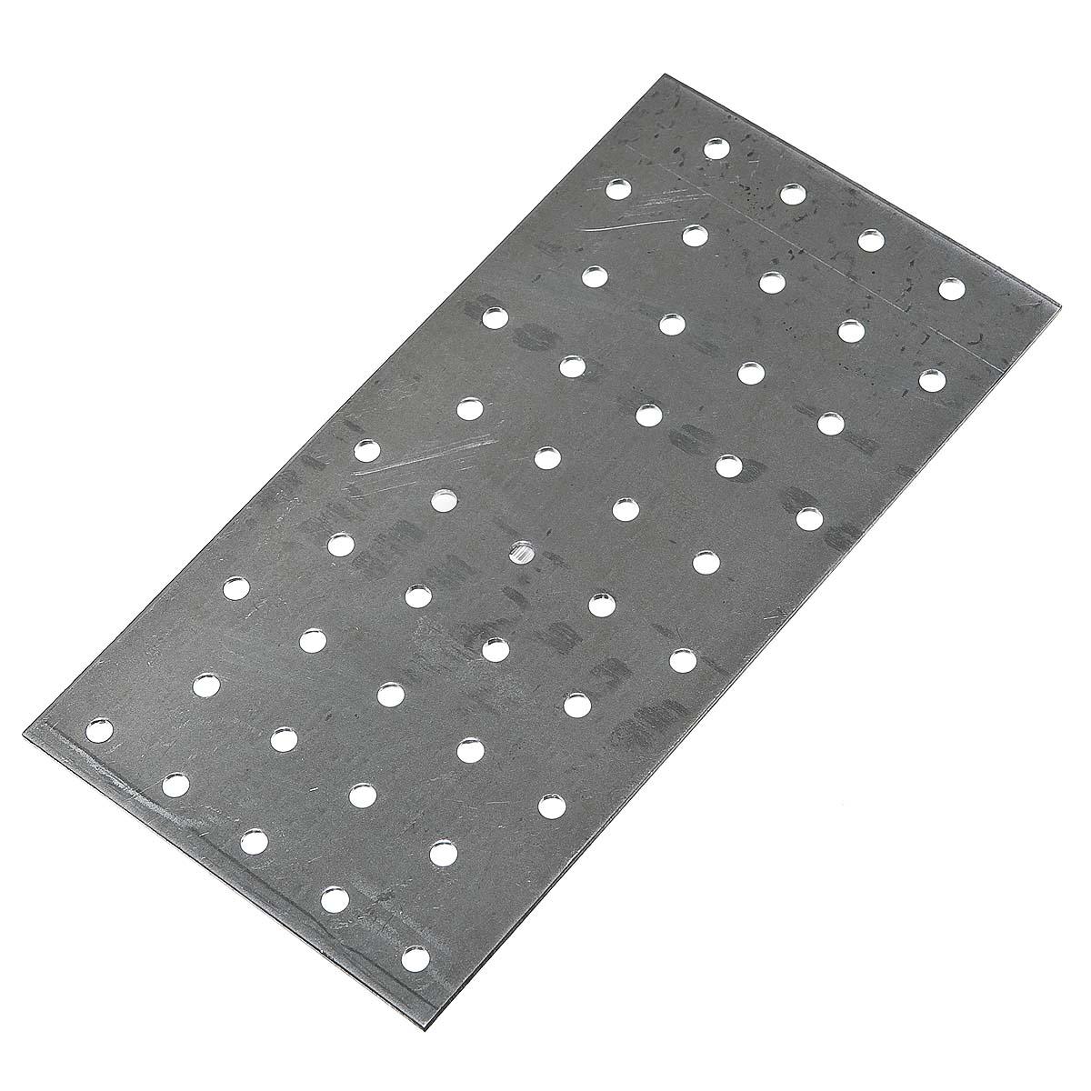 Пластина соединительная оцинкованная 200х100х2 мм