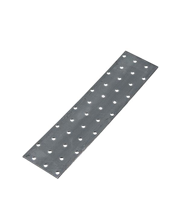 Пластина соединительная оцинкованная 240х 60х2 мм
