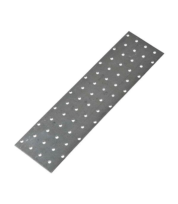 Пластина соединительная оцинкованная 300х80х2 мм