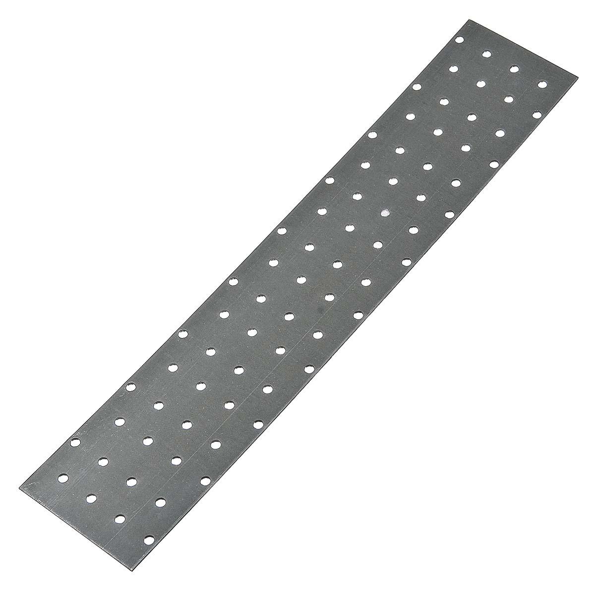 Пластина соединительная оцинкованная 400х80х2 мм