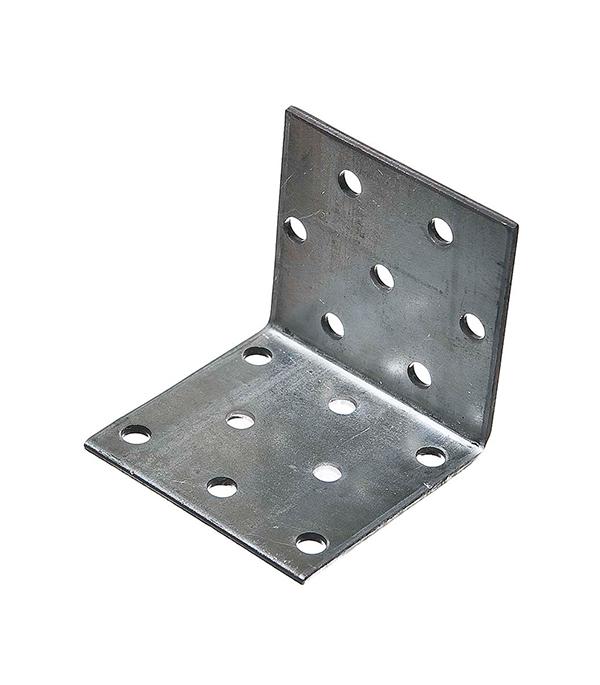 Уголок соединительный оцинкованный  50х50х50х2 мм