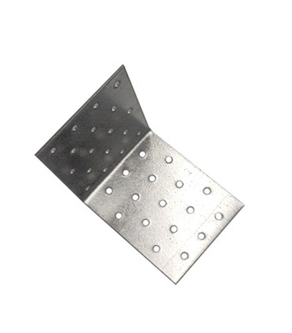 Уголок соединительный оцинкованный  80х80х200х2 мм