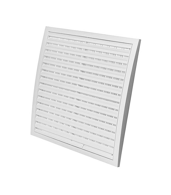 Вентиляционная решетка пластиковая Эра 350х350 мм регулируемая