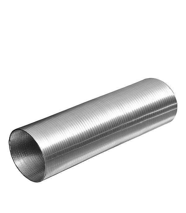 Воздуховод гибкий алюминиевый гофрированный d125 мм х 3 м Эра