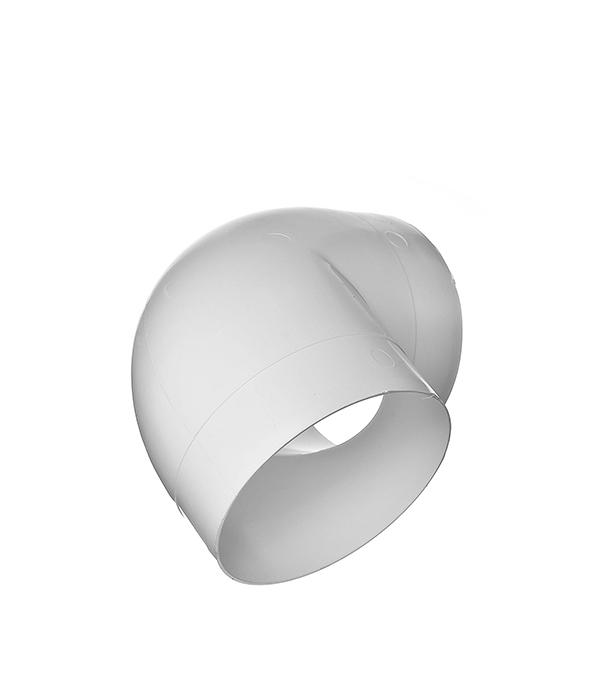 Колено для круглых воздуховодов пластиковое d100 мм, 90°