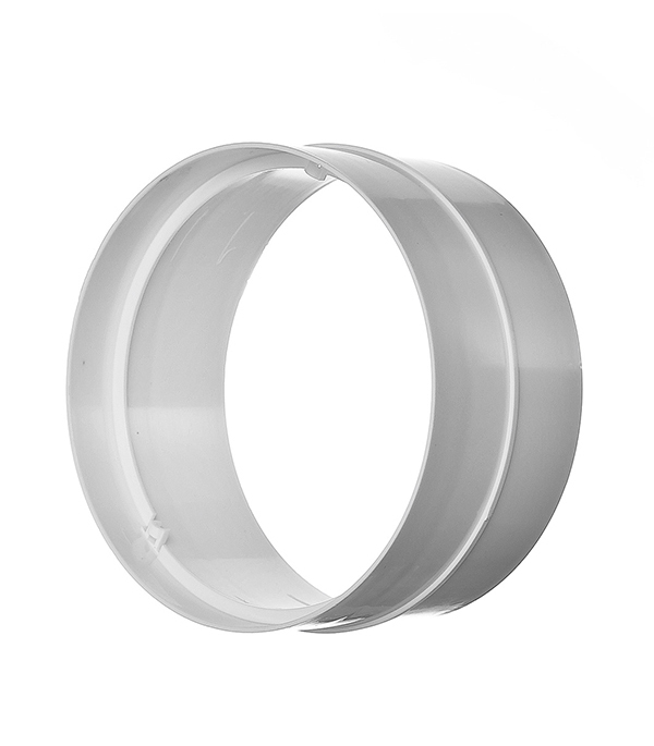 Соединитель для круглых воздуховодов пластиковый d100 мм