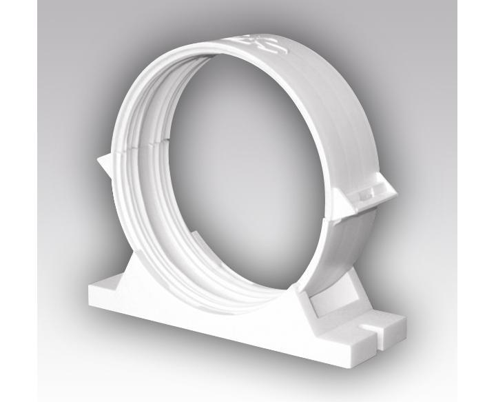 Держатель для круглых воздуховодов пластиковый d100 мм
