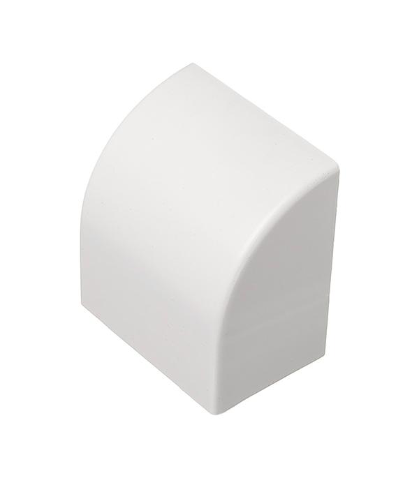Заглушка для кабель-канала 60х40 мм белая (4 шт)