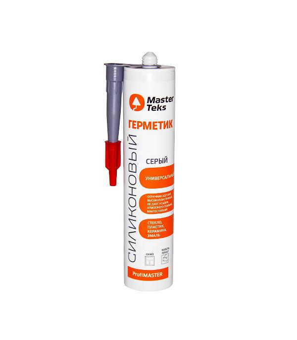 Герметик силиконовый Мастертекс U универсальный 290 мл серый