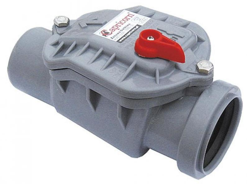 Клапан обратный канализационный внутренний  50 мм