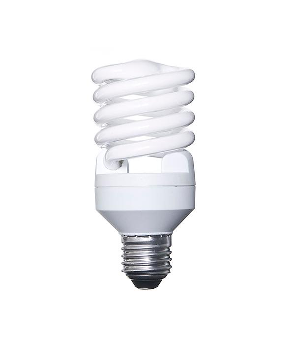 Лампа энергосберегающая E27, 23W, MiniTwist, 4000К (холодный свет), Osram
