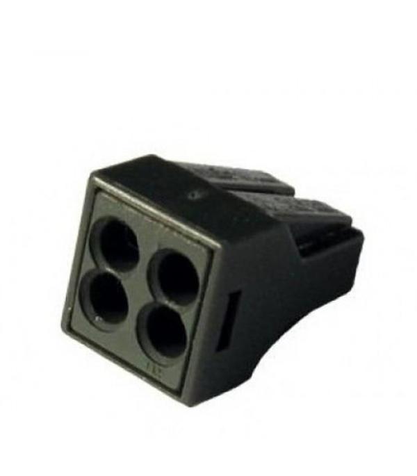 Строительно-монтажная клемма КБМ-2273-244 (2,5мм2) с пастой (5 шт/упак) TDM  строительно монтажная клемма кбм 8х2 5мм 10шт blox эт 120017