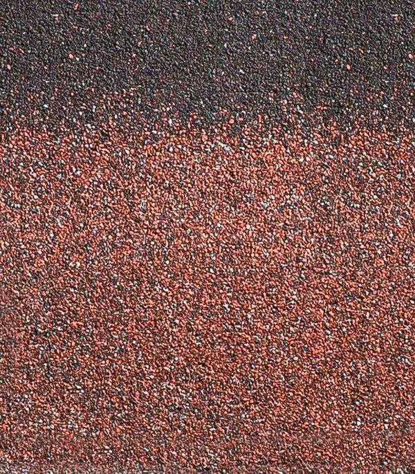 Черепица битумная коньково-карнизная ШИНГЛАС цвет красный мрамор 5 м.кв.