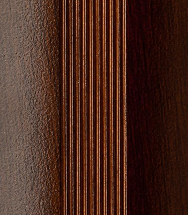 Порог для кромок ступеней 25х25х1800 мм венге