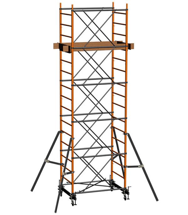 Вышка-тура стальная 12.4 м рабочая высота 13.4 м