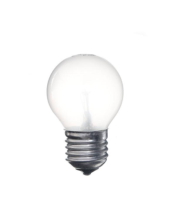 Лампа накаливания Philips E27 40W Р45 шар FR матовая