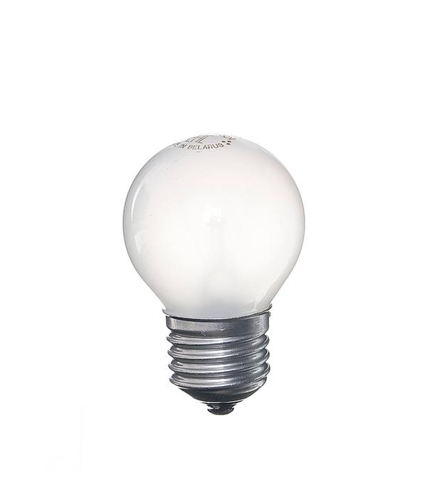 Лампа накаливания E27, 60W, Р45 (шар), FR (матовая) Philips