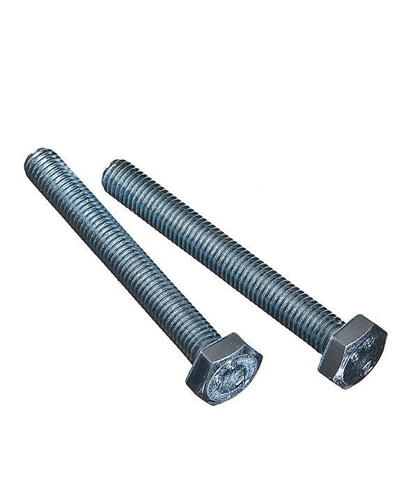 Болты оцинкованные М10х80 мм DIN 933 (2 шт) болты оцинкованные м12х80 мм din 933 10 шт