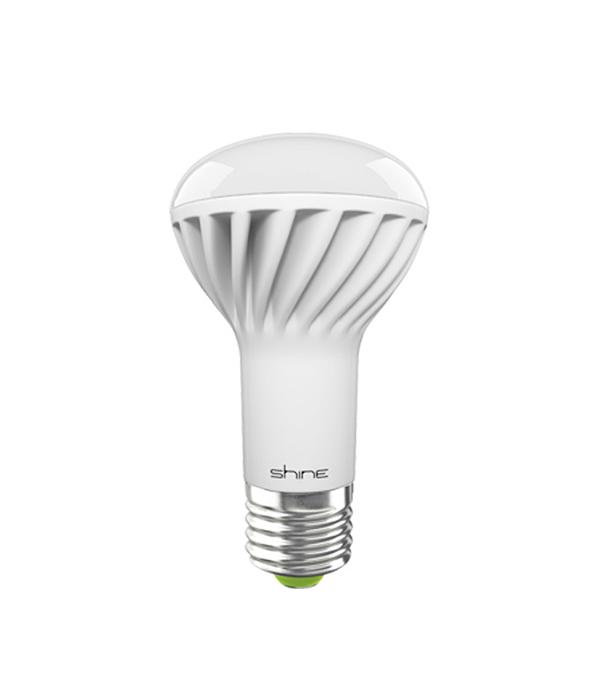 Лампа светодиодная E27,  9W, R63 (рефлектор), 3000K (теплый свет), Shine