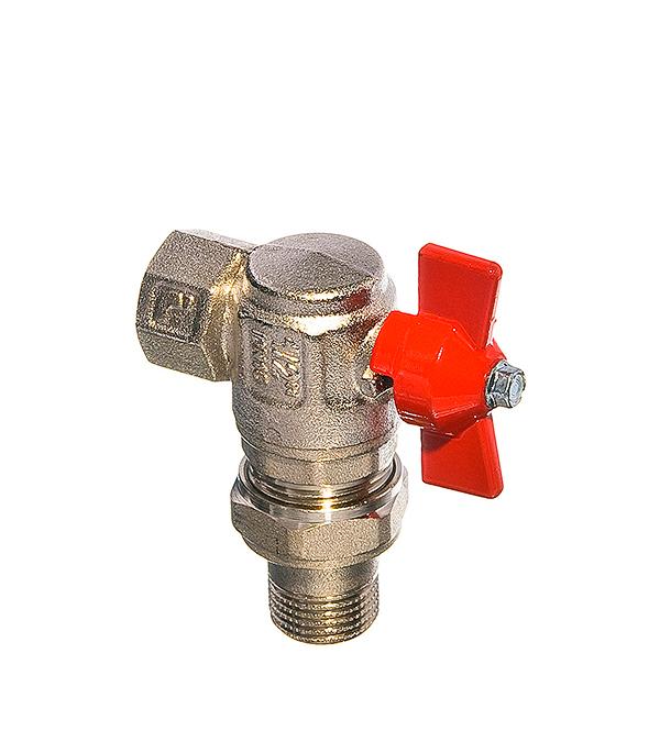 Кран шаровый1/2в/нугловойсполусгономбабочкаItap редуктор давления itap 1 2 в в с отверстием под манометр