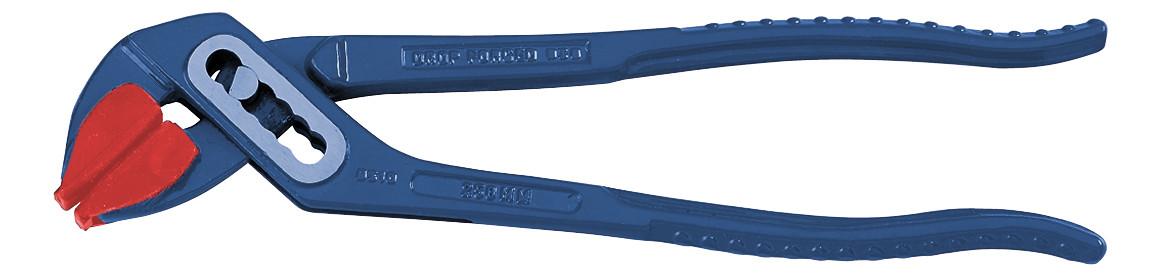 Клещи 250 мм переставные с пластиковыми насадками KWB Стандарт
