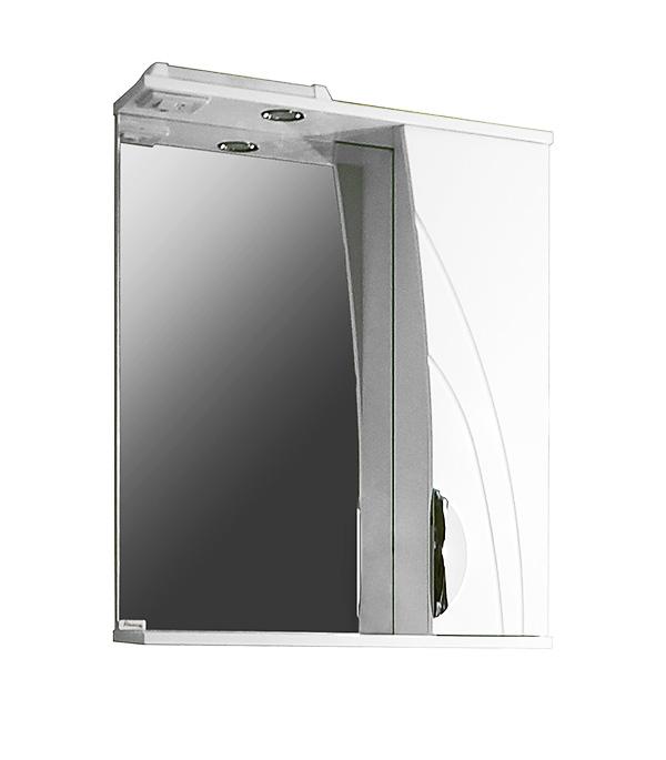 Шкаф зеркальный Фламенко 650 мм