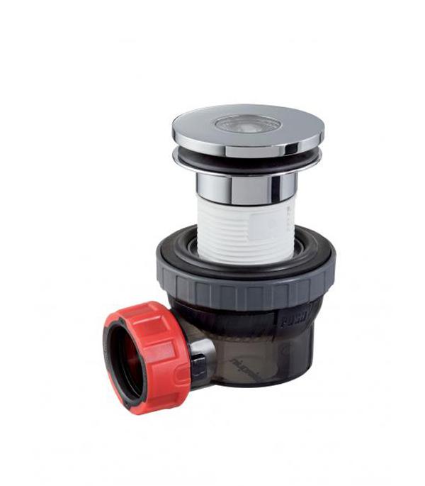 Сифон для раковины 1 1/4  без перелива Нано 67мм, выход в канлизацию 40 мм сифон для раковины alcaplast хромированная латунь d32 с накидной a432