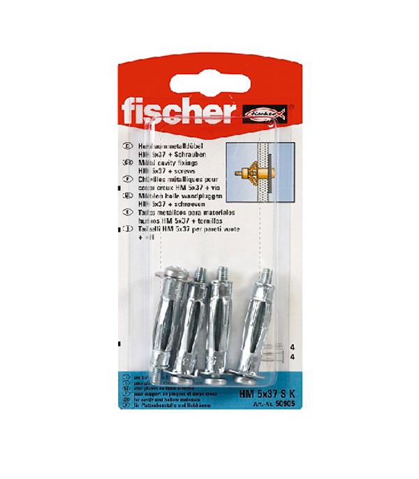 Дюбель для листовых материалов и плит HM 5/37 SK (4 шт.) Fischer