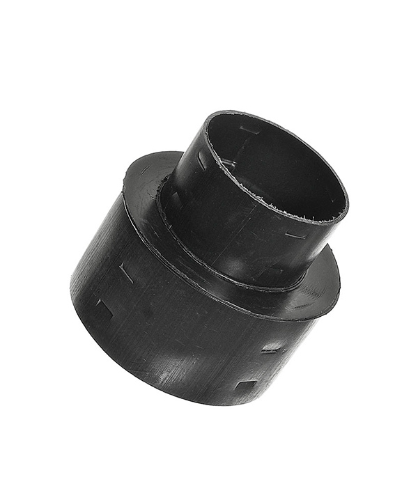 Переходник для дренажных труб d110х160 отвод для дренажных труб d110 на 90 градусов