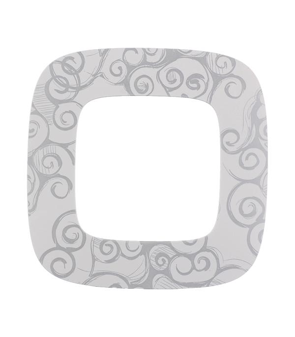 Рамка oдноместная универсальная Legrand Valena Allure нарцисс хром