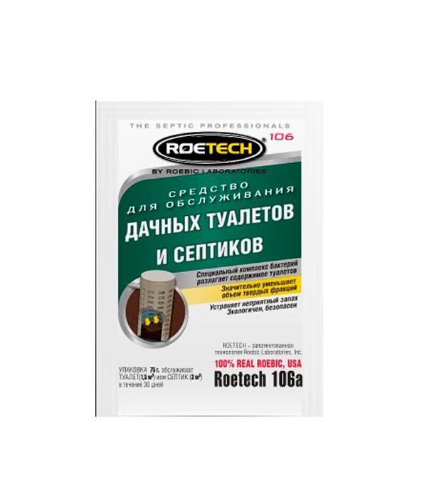 Средство для обслуживания дачных туалетов и септиков 75 г ROETECH
