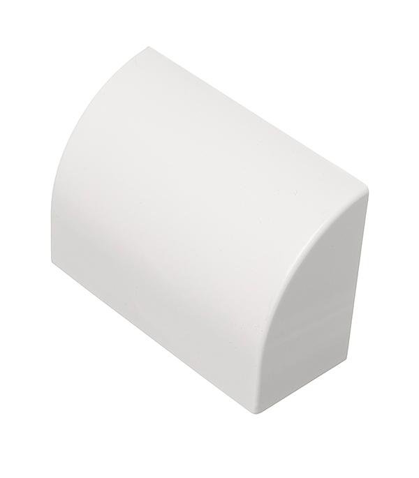 Заглушка для кабель-канала 100х40 мм белая (2 шт.)