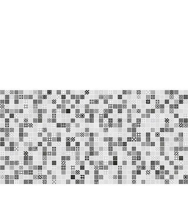 Плитка декор 300х600х8 мм Мэриленд белый