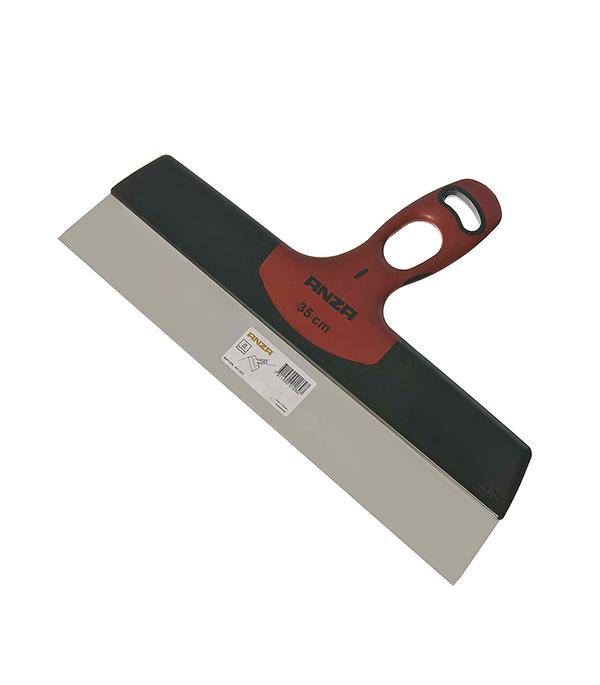 Шпатель фасадный Anza 350 мм с эргономичной ручкой фасадный шпатель профи 350мм fit hq 06445
