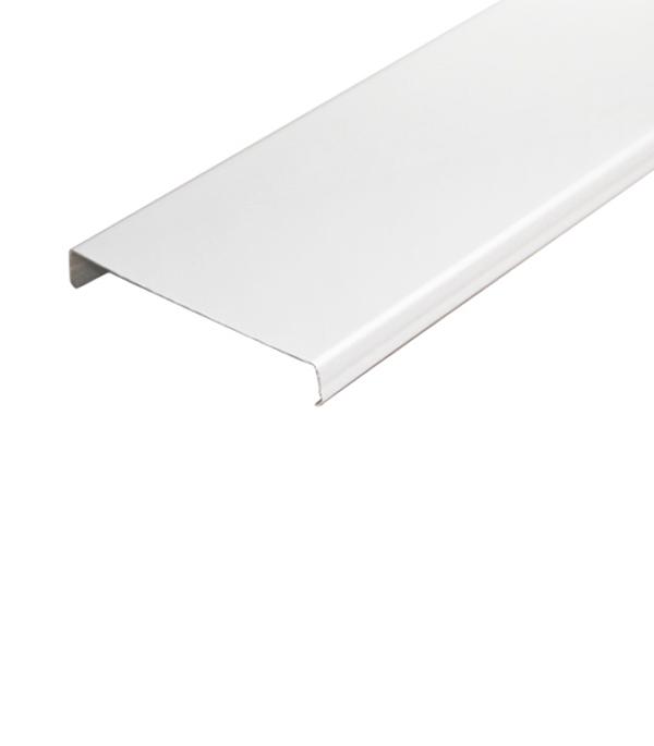 Рейка открытого типа Албес AN 85A 3 м белая глянцевая