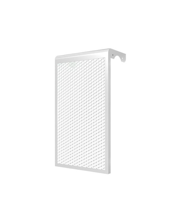 Декоративный металлический экран на радиатор 6-х секционный