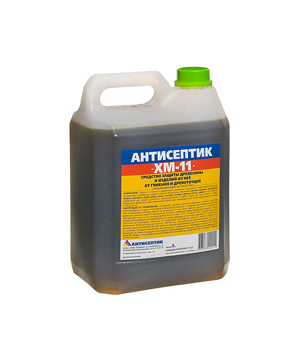 Антисептик ХМ-11 биозащита 5 л антисептик для дерева v33 универсальный 5 л