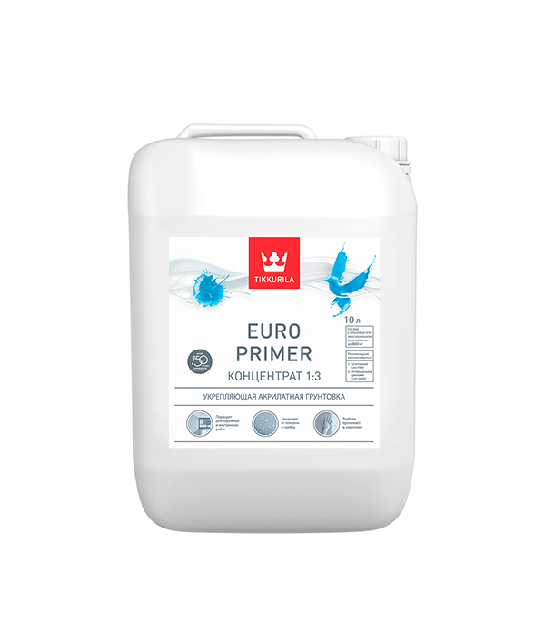 Грунт Euro Primer концентрат Тиккурила 10 л