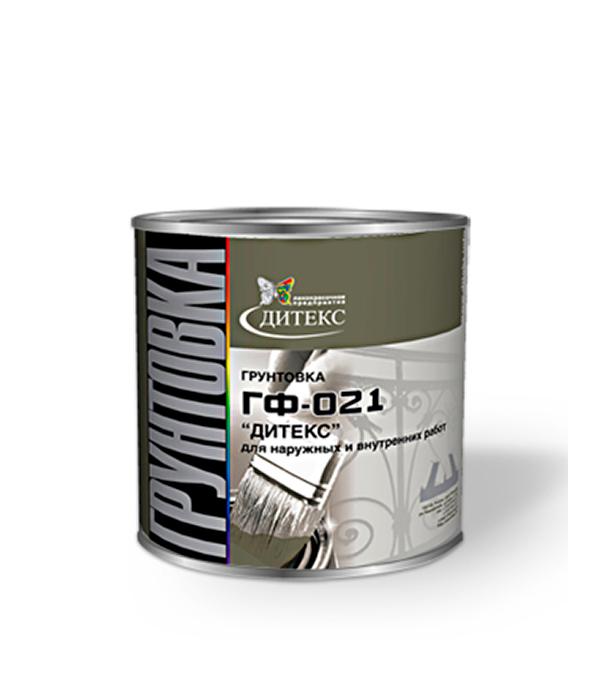 Грунт ГФ-021 серый Дитекс 2,6 кг