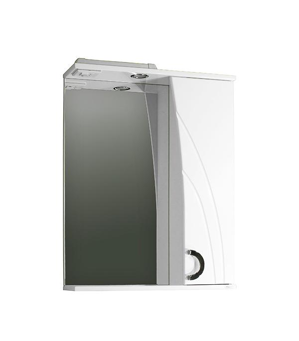 Шкаф зеркальный Фламенко 600 мм