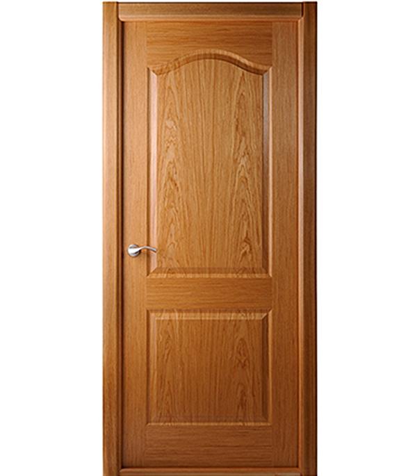 Дверное полотно Белвуддорс Капричеза шпонированное Дуб 700x2000 мм без притвора