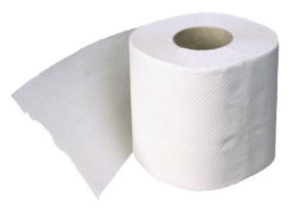 Бумага туалетная однослойная 37мх9см