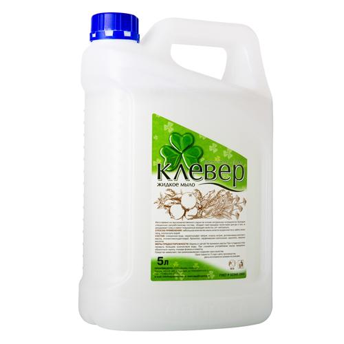 Мыло жидкое, канистра 5 л, в ассортименте
