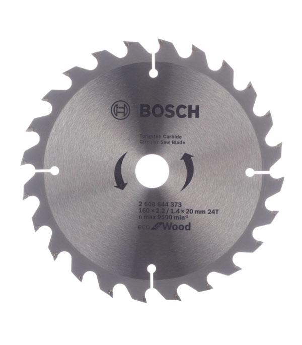 Диск пильный Bosch Spedline ECO 160х24х20/16 мм
