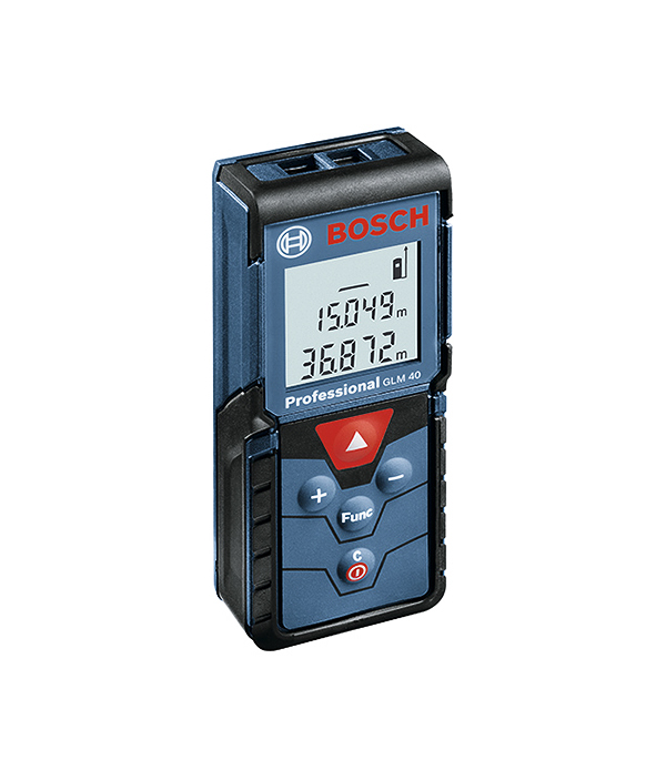 Дальномер лазерный  40 м, DLE 40 Bosch
