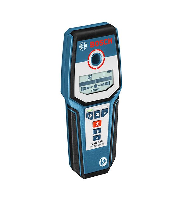Детектор для обнаружения проводки, металла, дерева GMS 120 PROF Bosch