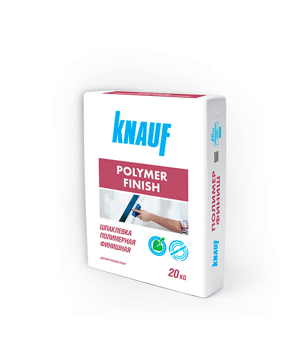 Полимер Финиш Кнауф (белая шпаклевка для сухих помещений),  20 кг