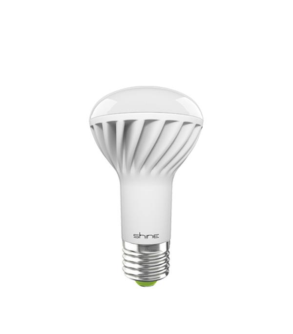 Лампа светодиодная E27,  9W, R63 (рефлектор), 4000K (холодный свет), Shine