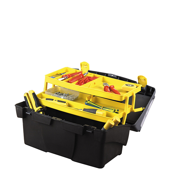 Ящик для инструмента Stanley 49.5х26.5х26.1 см ящик для инструментов truper т 15320