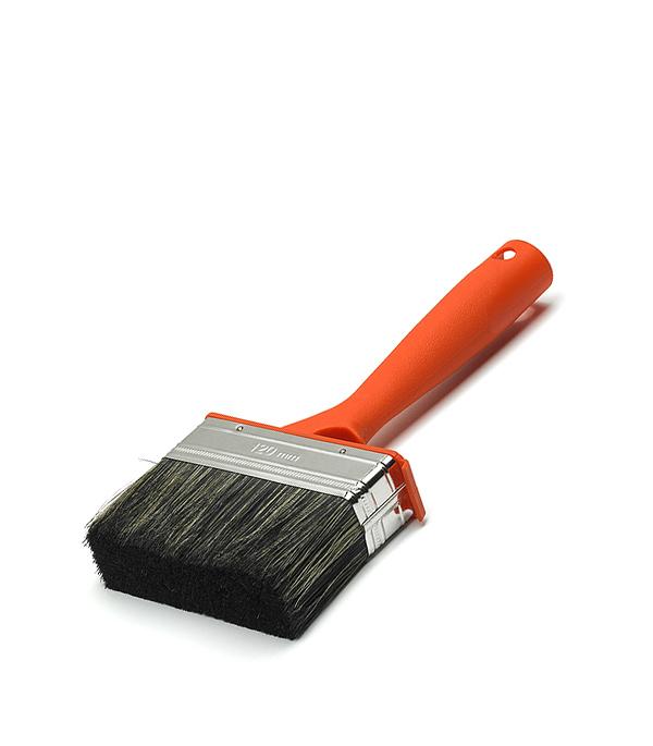 Кисть плоская  75Х30 мм смешанная щетина пластиковая ручка Anza Профи